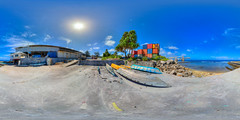 Where traditional meets modern at the Nauru Port - higher quality virtual view in description