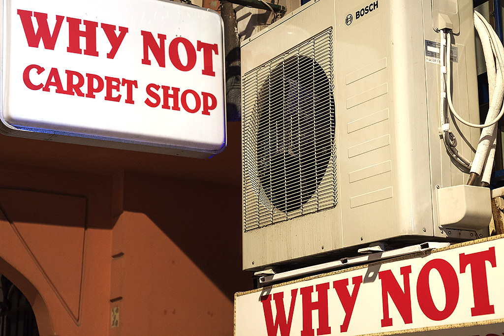 WHY NOT CARPET SHOP--Istanbul