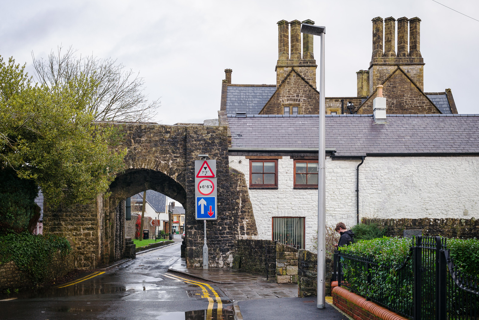 South Gate and Old Grammar School