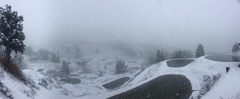 Blog Kerst Niigata in de sneeuw