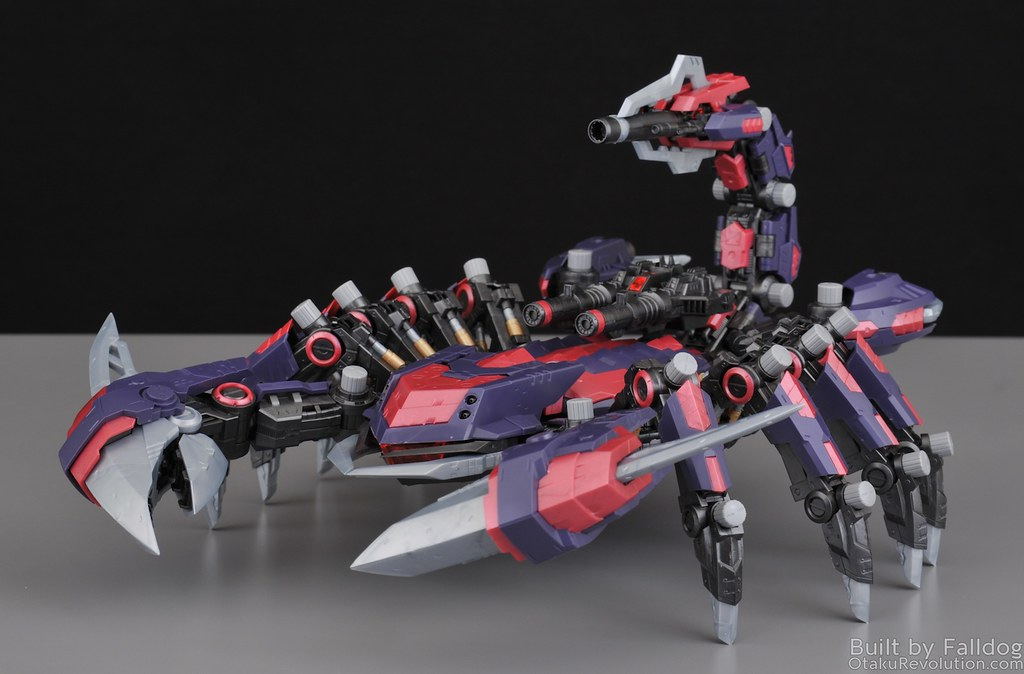HMM Zoids - Death Stinger Review 24