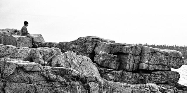 Granite Cliffs at Thunder Hole