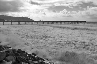 Pacifica Pier - Waves
