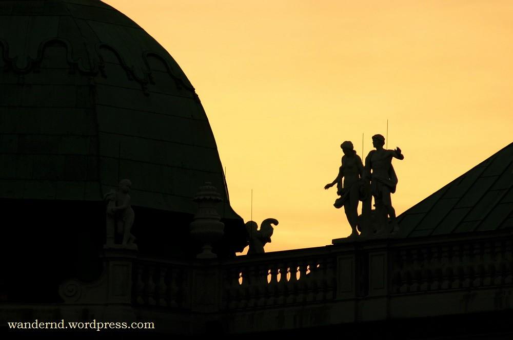Goldene Stunde am Belvedere