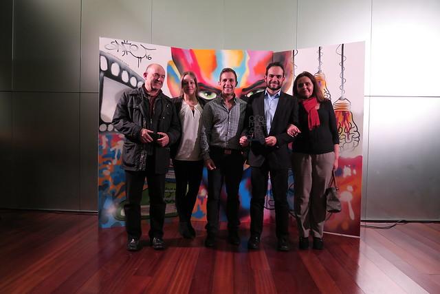 Carlos Alameda, premio Sapere Aude 2015 a la Comunicación