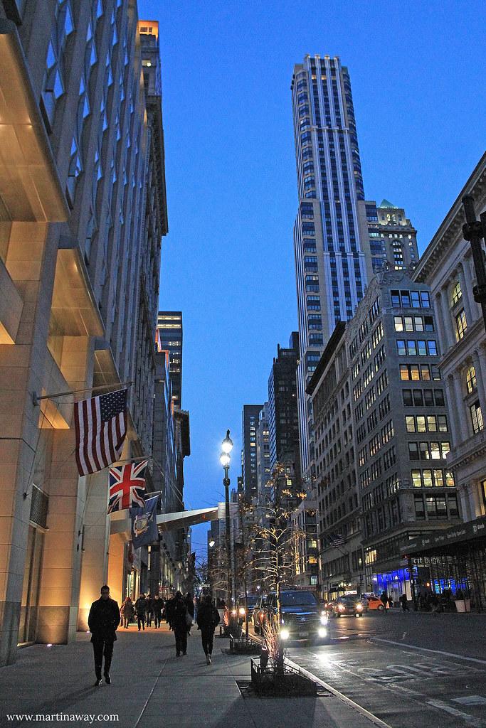 Per le strade di Manhattan