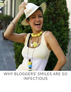 Not Dressed As Lamb | Why Bloggers' Smiles Are So Infectious