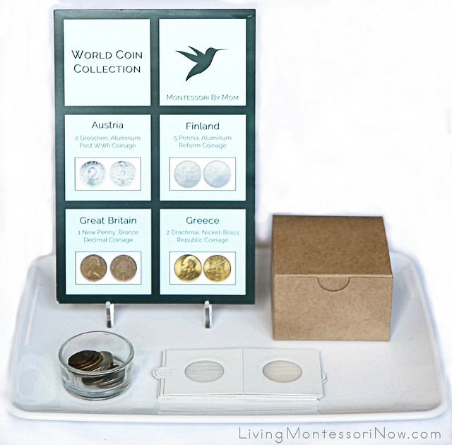 World Coin Collection from Montessori By Mom