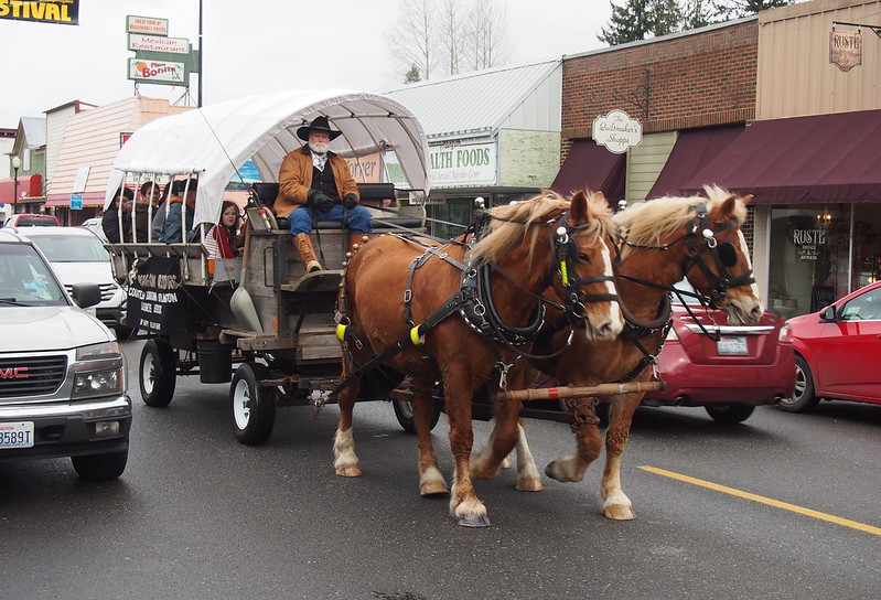 Eagle Festival Wagon: Free rides!