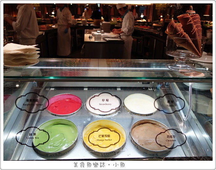 【台北松山】台北西華飯店B-one自助餐廳/應景年節主題料理 @魚樂分享誌