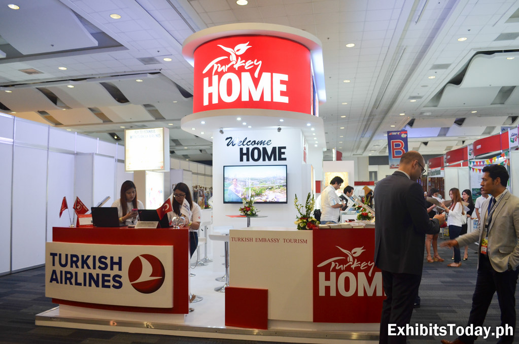 Turkey Tourism Trade Exhibit Stand
