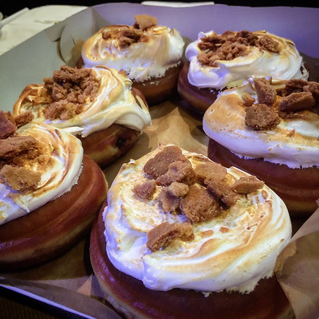 S'mores Donuts #donutfestnyc
