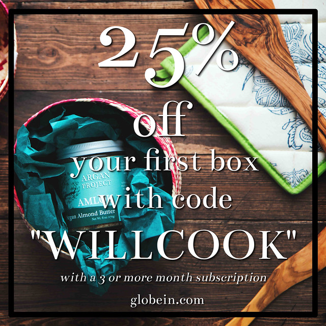 Globe In subscription box | Will Cook For Friends