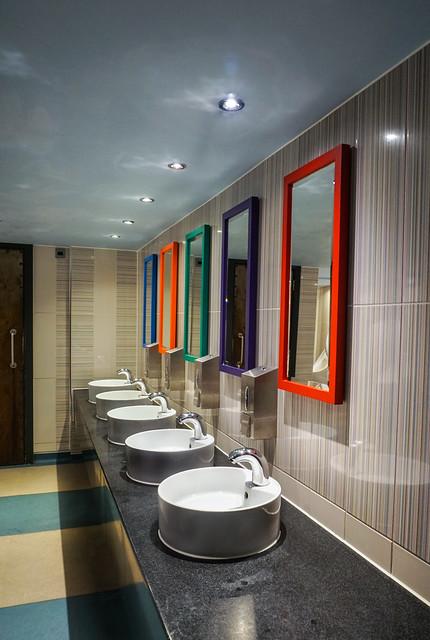 Colourful Washroom