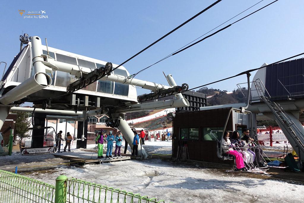 韓國滑雪一日團》洪川大明滑雪場.Vivaldi Park 維爾瓦第.有中文教練篇 SA Tour @Gina環球旅行生活