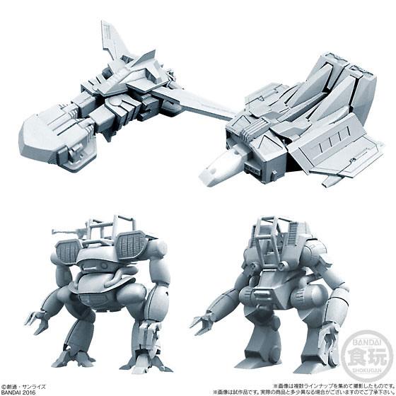 【官圖&販售資訊更新!】《戰鬥裝甲Xabungle》新超級迷你盒玩 登場!