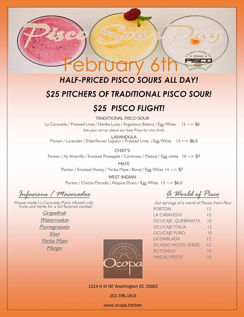 PISCO SOUR DAY 2016- Ocopa