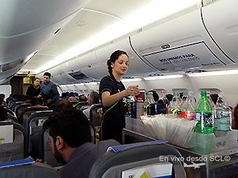 Sky servicio a bordo (Felipe Muñoz)
