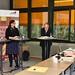 Pia Schellhammer beim Hochschulforum der Hochschule für öffentliche Verwaltung Mayen, 26.01.2016