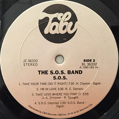 THE S.O.S. BAND:S.O.S.(LABEL SIDE-B)