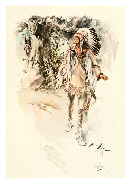 020-The song of Hiawatha -1906- Harrison Fisher