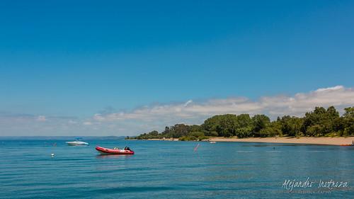 chile blue sky lake nature water lago freshair outdoors clear futrono losríos coique bahíaconique