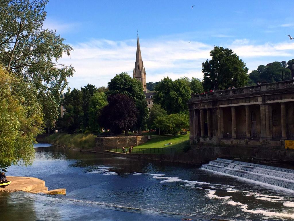 Bath en un día: Pultney Bridge de Bath bath en un día - 24879938780 4d095265da b - Bath en un día, el SPA de Roma en Inglaterra