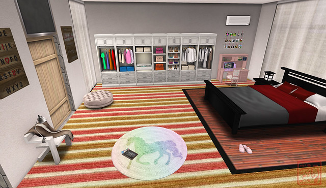 A Glimpse of my Bedroom {Linden Home}