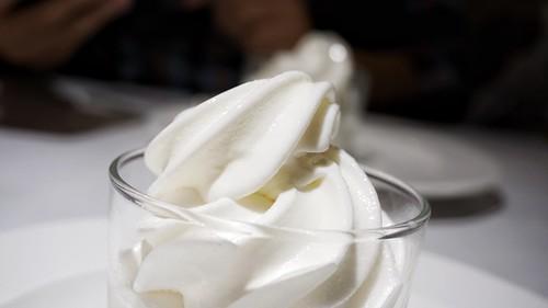 Helado de leche