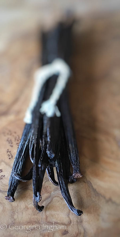 Georgina Ingham Culinary Travels - Photograph Vanilla Pods