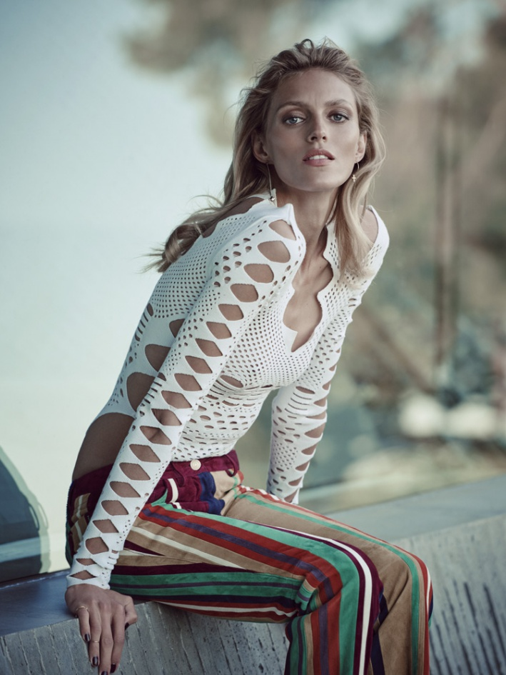 Anja Rubik By Eric Guillemain For Viva Moda Spring 2016