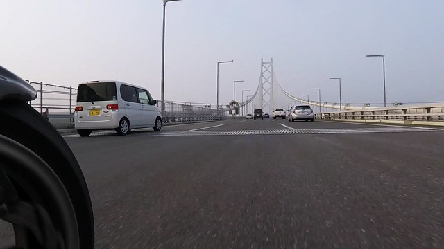 明石海峡大橋 by GoPro HERO4 session
