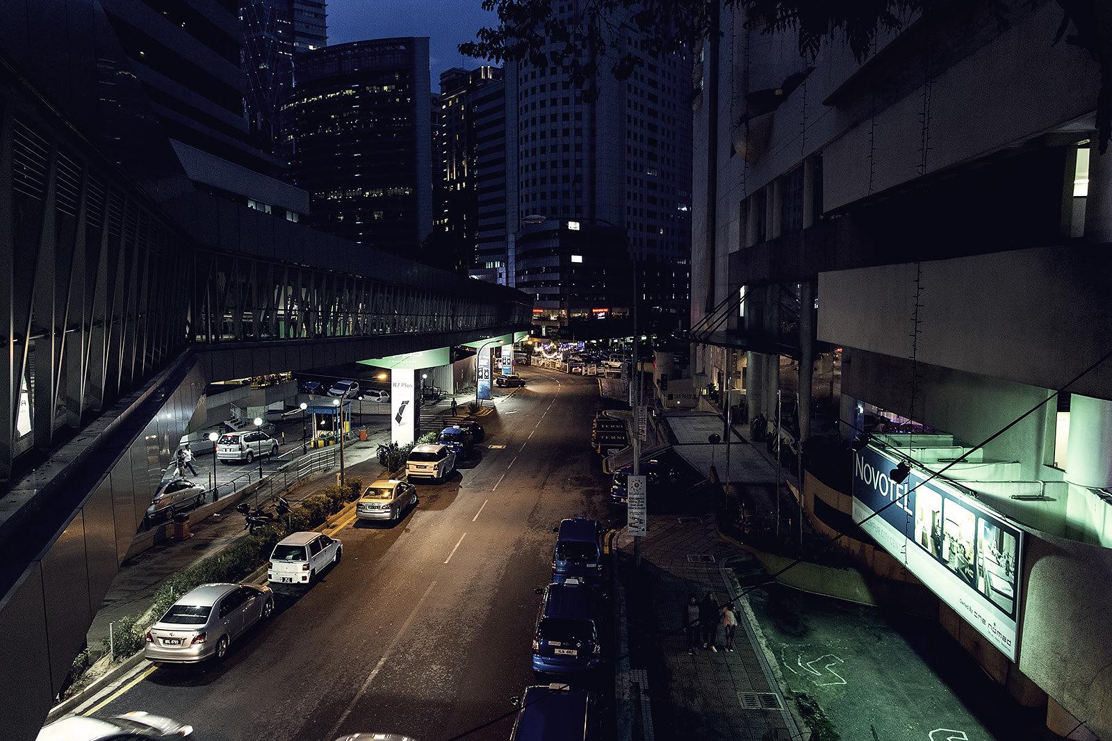 Empty KL Streets