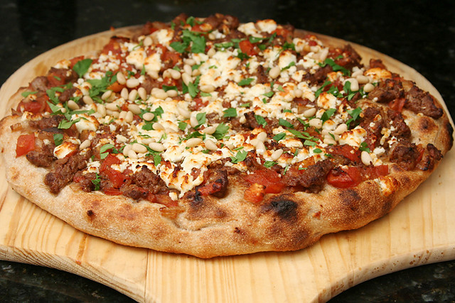 lamb pomegranate pizza 3