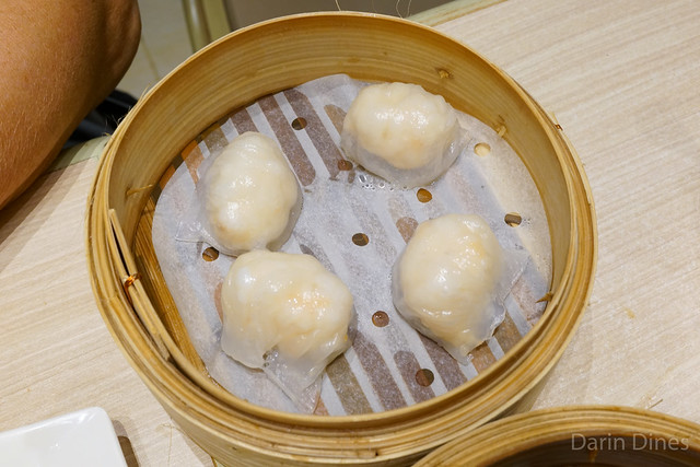 Steamed fresh shrimp dumplings