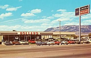 Holland Lincoln-Mercury, Albuquerque NM, 1973