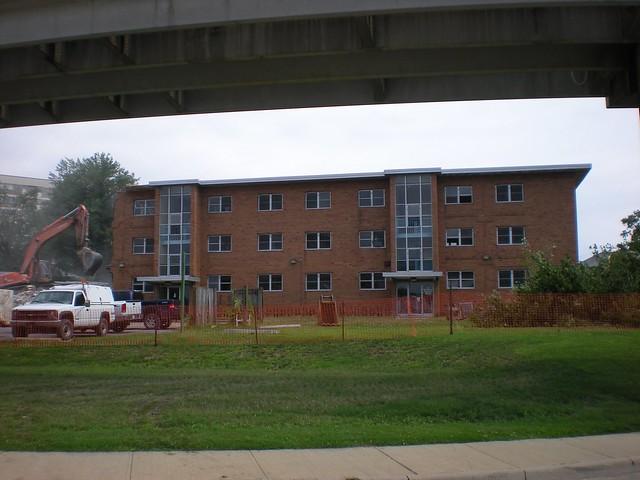 Mid Century Modern Apartment Demolition