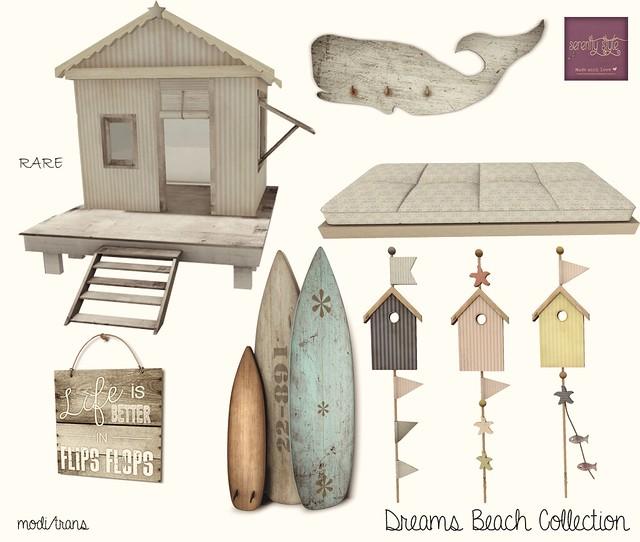 Serenity Style- Dreams Beach Col