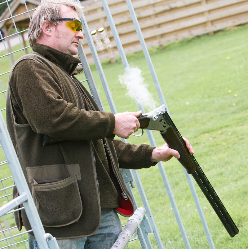 Clay Pigeon Shooting Stag Do, Liverpool Stag Day Clay Shooting