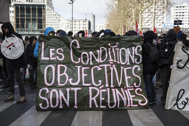Rennes : sixième manifestation contre la loi travail.