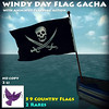 [ free bird ] Windy Day Flag Ad