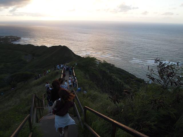 PB300702 ダイヤモンドヘッド(Diamond Head State Monument) hawaii ハワイ ひめごと ヒメゴト