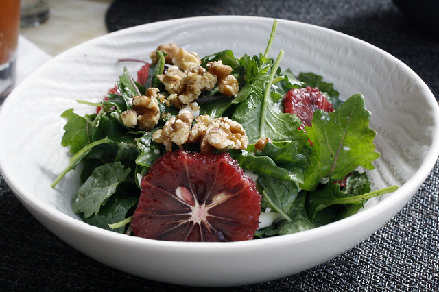 Blood Orange and Kale Salad