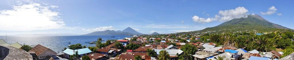 Panorámica de Ternate