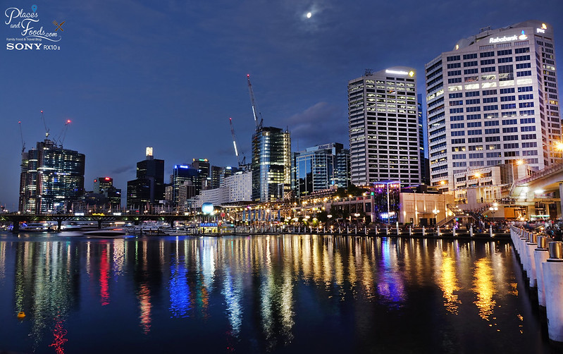 darling harbour night view