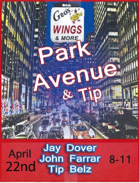 Park Ave & Tip 4-22-16