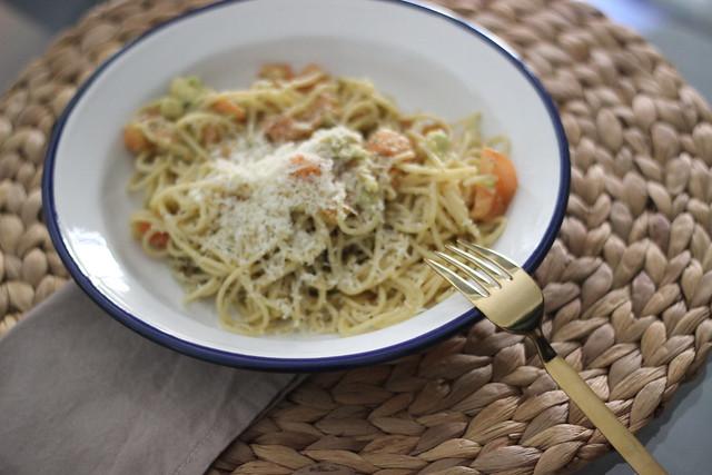 Pasta con aguacate_ Rojo Valentino Blog (1)1