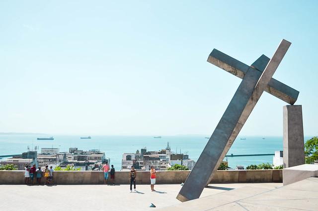 Monumento da Cruz Caída | Praça da Sé, Salvador - BA {março 2016}
