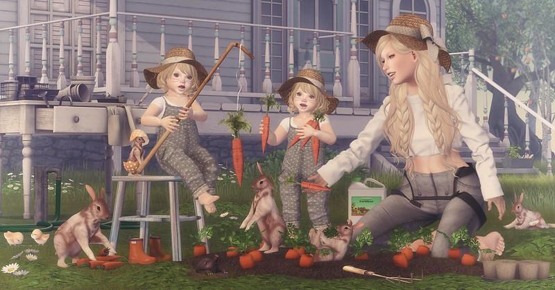 Amelie et les petites: Happy Easter