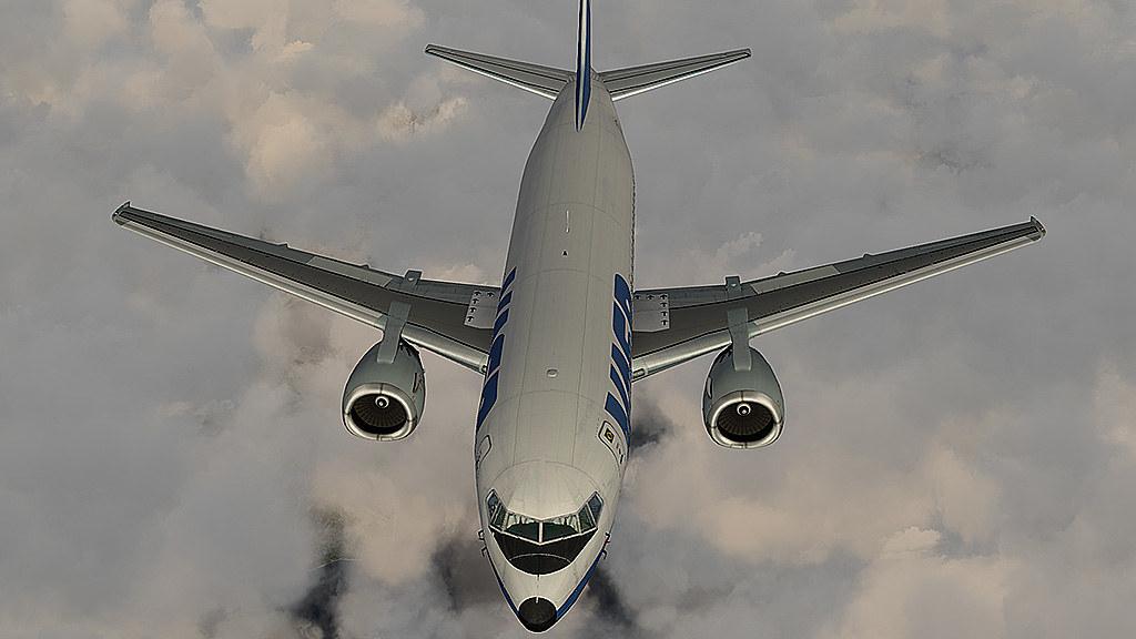 737-300 Vasp pousando em SBGL 26123072773_6e7f48bffd_b